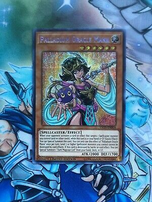Yugioh Palladium Oracle Mana Prismatic Secret Rare TN19 Mint