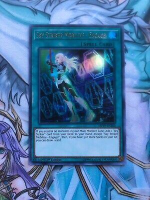 Yugioh sky striker mobilize engage MP19 NM-M Pack Fresh