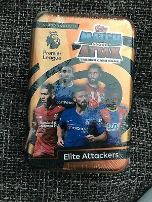 Topps Match Attax Tarding Card Game Season 2018/19 Elite Attackers Brand New