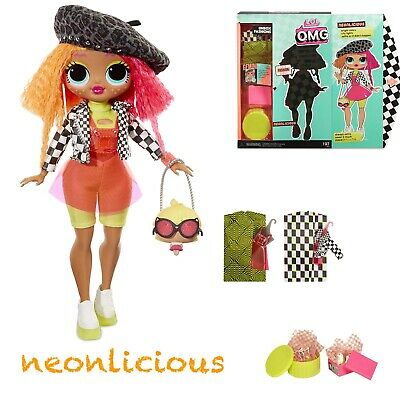 LOL SURPRISE OMG NEONLICIOUS FASHION DOLL SERIES 1 Royal Swag Diva Authentic Lol