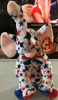 MINT TAGS TY RIGHTY 2004 the ELEPHANT BEANIE BABY