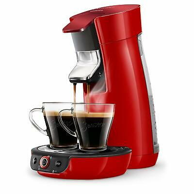 Cafetiére Dosettes Duo Select  Crema Plus Rouge PHILIPS SENSEO HD6564/81 Viva