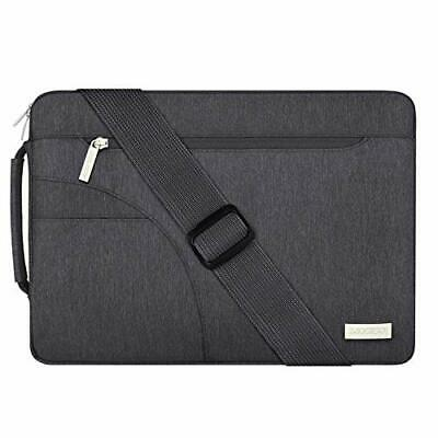 MOSISO Laptop Umhängetasche Kompatibel mit 13-133 Zoll MacBook Pro MacBook Ai...