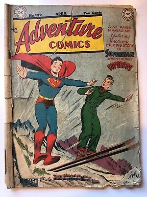 ADVENTURE COMICS (1st Series 1938) #139 1949. Golden Age Comic.