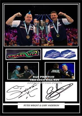 FREE DELIVERY Reprint Photo A5 Mounted Print PETER WRIGHT #2 Signed