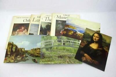 4 Abrams Art Books Paintings Of Children, Landscapes, Nudes, Great Masterpieces
