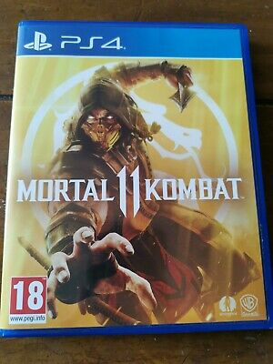 Mortal Kombat 11 Ps4 with shao kahn dlc. Excellent condition