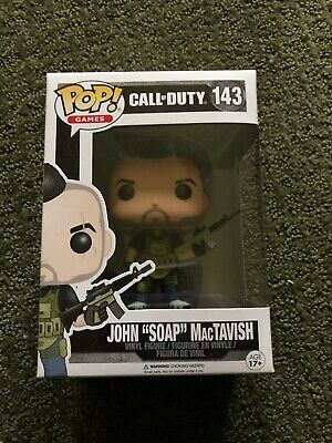 "Funko Pop! Games Call of Duty JOHN ""SOAP"" MACTAVISH Vinyl Figure #143"