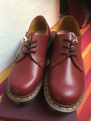Genuine English Made Dr Martens 1461 Oxblood Shoes Size 6.5