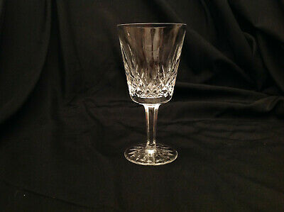 """Available (9) WATERFORD Crystal LISMORE Water Goblet 6-7/8"""" 8oz"""