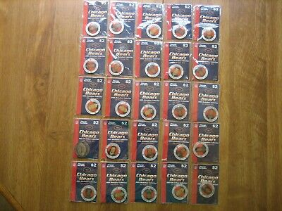 Chicago Bears 2003 Medallion Collection Still In Original Package New