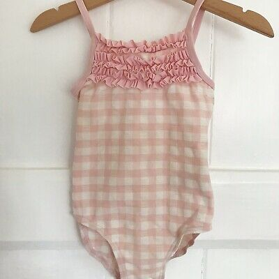 BNWT NEXT Baby Girls Floral Frill Tankini Swimsuit Swimming Costume 3-6-9-12mths