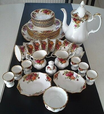 Royal Albert Old Country Roses Tafelservice 38-teilig