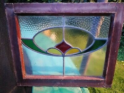 Coloured Stained Glass Windows X2. Upcycle project