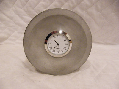 Desk Clock hand made from a Genuine Rolls Royce Merlin Engine Piston