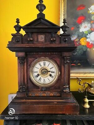 Antique Thomas Fattorini Alarm Clock, clock working but not Chiming