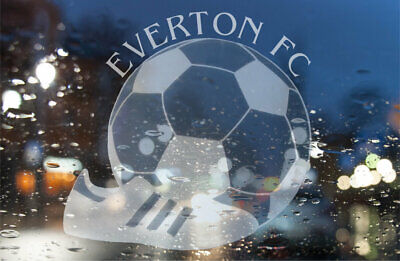 Everton Rear windscreen Etched Vinyl Decal