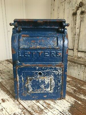 Antique Vintage Us Post Office Mailbox Cast Iron Carlisle Foundry Dated 1939 Pa
