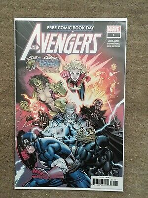 Avengers / Savage Avengers #1 FCBD 2019 - Free Comic Book Day - NM Unstamped