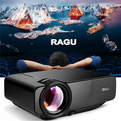 RAGU Mini 1080P Multimedia Home Theater Video Connected with Android & iOS Phone