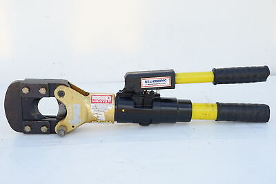 Reliable USA REL-2000-MC Portable Hydraulic Cable Cutter 50mm-CU 19mm-Rebar 443