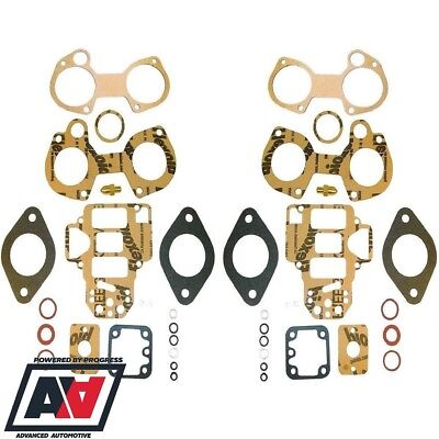 Twin Weber 45 DCOE Carburettor Service Kits With Seals & Standard Needle Valve