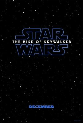 STAR WARS THE RISE OF SKYWALKER MOVIE POSTER 2 Sided ORIGINAL Advance 27x40