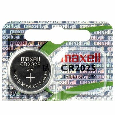 Button Battery CR2025 Maxell 3V Lithium, Quality Professional