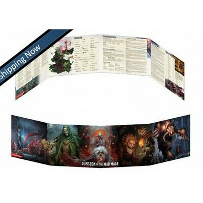 Dungeons & Dragons 5th Edition Waterdeep Dungeon of the Mad Mage DM Screen