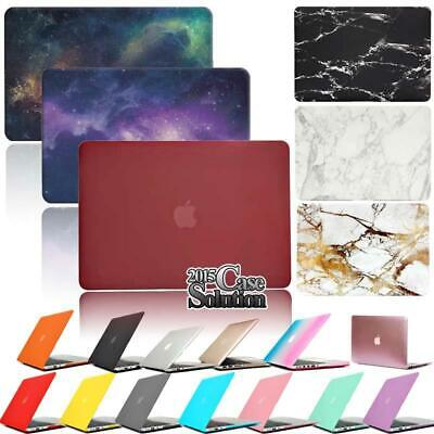 "For 12"" 13"" 15"" MacBook Air/Pro/Retina Matte Rubberized Hardshell Case Cover"