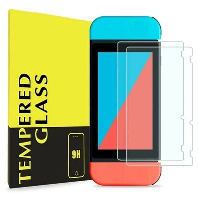 2 Pack For Nintendo Switch Lite Premium 9H Tempered Glass Screen Protector Guard
