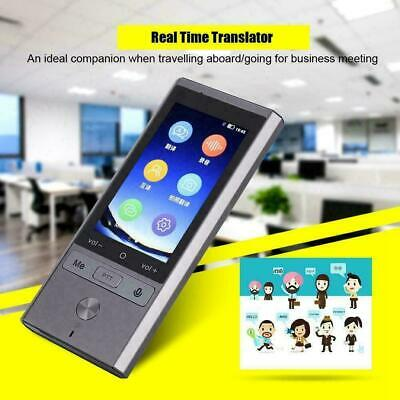 75 Language T9 Wifi Bluetooth Smart Voice Translator Travel Instant Translation