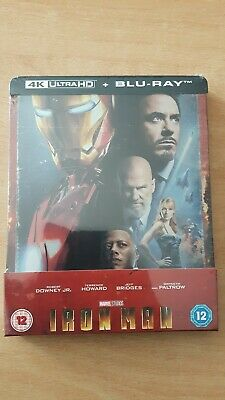 Iron Man Steelbook Zavvi 2019 4K + Blu-Ray Normal Neuf