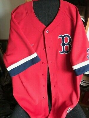 Boston Red Sox Training Top; Elsworthy 2 On Rear. 48 Inch Chest Approx