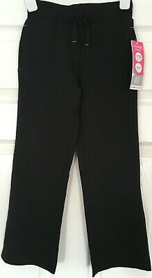 New with Tags GEORGE School Girls age 6-7 yrs BLACK Jog Pants Stretch Trousers