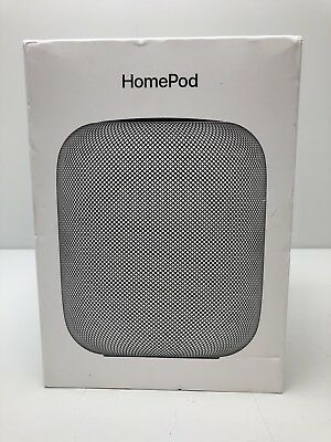 Apple HomePod Smart Spkr MQHW2LL/A Space Gray     Apple Warranty 07/03/2020 !!!