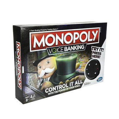 Monopoly Voice Banking Family Game