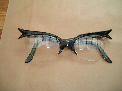Vintage 1950's/1960's cats eye ladies spectacles glasses good condition