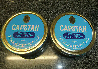 TWO OLD TOBACCO TINS, Capstan 50g