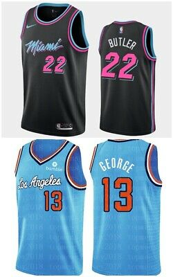 Conjunto Camisetas Nba (Butler-George) (Miami-Clippers) (Xl)