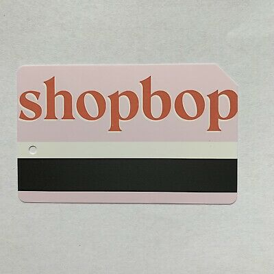 SHOPBOP Metrocard - Expired in Mint Condition *Collectible Item*