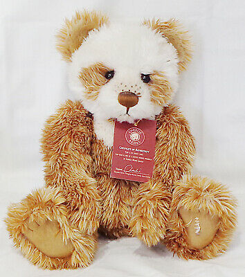Charlie Bears Plumo Hot Cross Bun Qvc Exclusive
