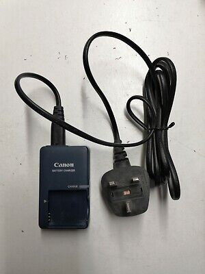 GENUINE CANON CB-2LVE G BATTERY CHARGERwith UK 2pin cable
