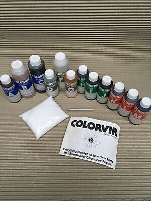 Colorvir Toners and Dye set complete