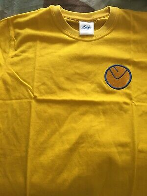 Leeds United canary yellow replica shirt xxl