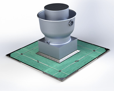 Rooftop 360 Grease Containment System