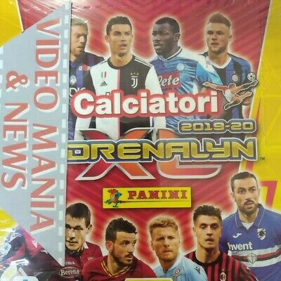 Calciatori Adrenalyn  2019/2020.Box 24 Bustine/Packets Cards.panini