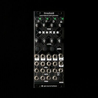 Threshold Mutable Instruments Edges Eurorack Synth Modul (Schwarz Texturiert)