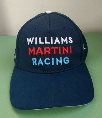 Williams Martini Racing Formula 1 cap / BNWT / One Size / Official