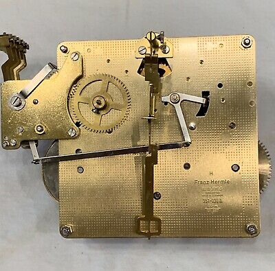 Franz Hermle  Chime/ Silent Function Clock Movement #351-030 A 45cm- Used